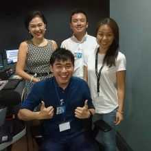 Adrian Ang - CEO of start-up, AEVice at Chinese radio interview- Capital 958-Sep 2017