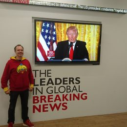 Peter Vesterbacka - at BBC studio-with Trump screen-2652
