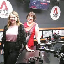 Minister Katri and Irma @ cna938-151119