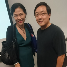 With Charlie Lee- founder of Litecoin- 2018 - 466 x 500px